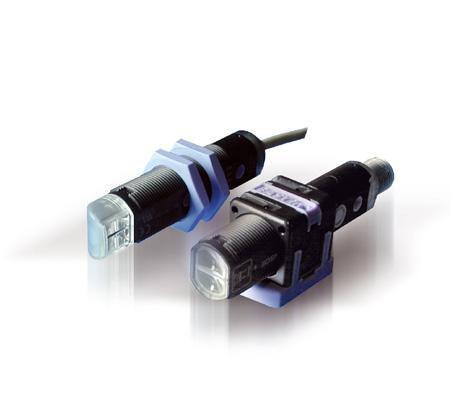 S51-PA-5-C10-PK, Reflextaster, 0-10 cm, M18x1, abgeflachte Seiten, PNP, M12 Stecker, Datalogic