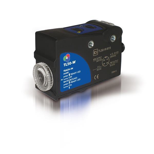 TL50-W-815, Kontrastsensor, 15 kHz, 10-30 VDC, Datalogic, M12 Stecker